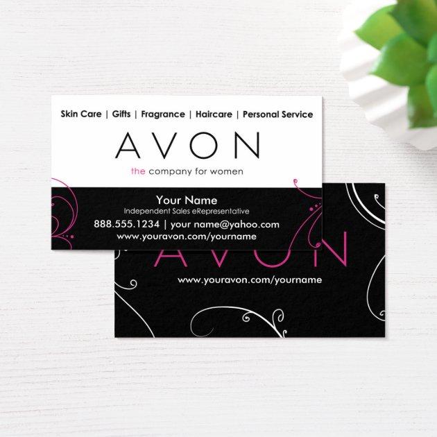 Custom Avon Business Cards Zazzle