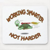 Funny Mouse Pads: Work Smarter not Harder Mouse Pad ...