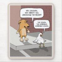 Funny Chicken Mouse Pads | Zazzle.com.au