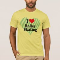 I love Roller Skating T-Shirt | Zazzle.com.au