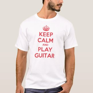 Keep Calm Play Guitar