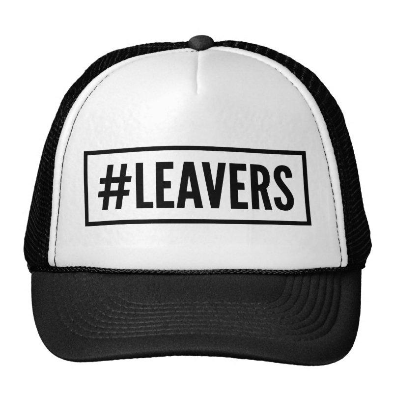 #Leavers hashtag cap