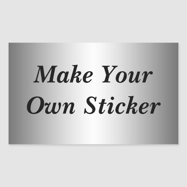 Make Your Own Sticker Zazzlecomau