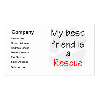 Dog Rescue Business Cards, 500 Dog Rescue Busines Card