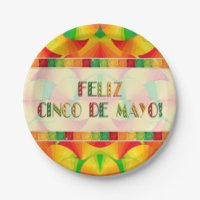 Mexican Paper Plates & Mexican Disposable Plate Designs ...