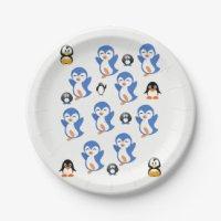 Penguin Plates | Zazzle.com.au