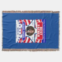 Red White Blue Blankets - Throw, Fleece & Sherpa Blankets ...