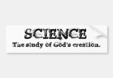 Creation Science Bumper Stickers Car Stickers Zazzle