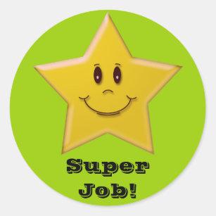 super job sticker