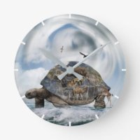 Turtle Wall Clocks | Zazzle.com.au