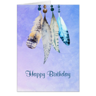 Native American Birthday Greeting Cards Zazzle Com Au