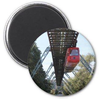 Wuppertal Floating Train / Wuppertaler Schwebebahn Magnet