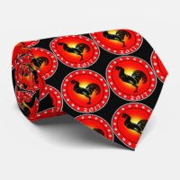 Year Of The Rooster Ties | Zazzle AU