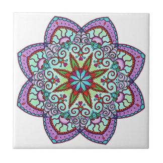 Encontre presentes Desenho Flor Azulejos criativos