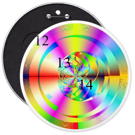 12/13/14 Rainbow Gadget Button
