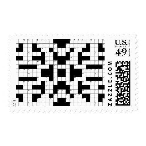 16640-crossword-puzzle-vector CROSSWORD PUZZLE VEC Stamp