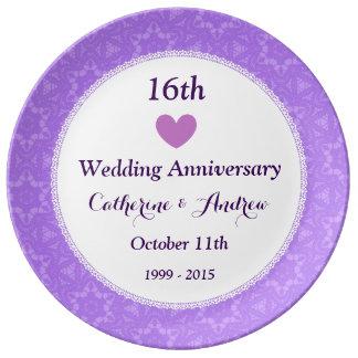 16th Wedding Anniversary TShirts 16th Anniversary Gifts