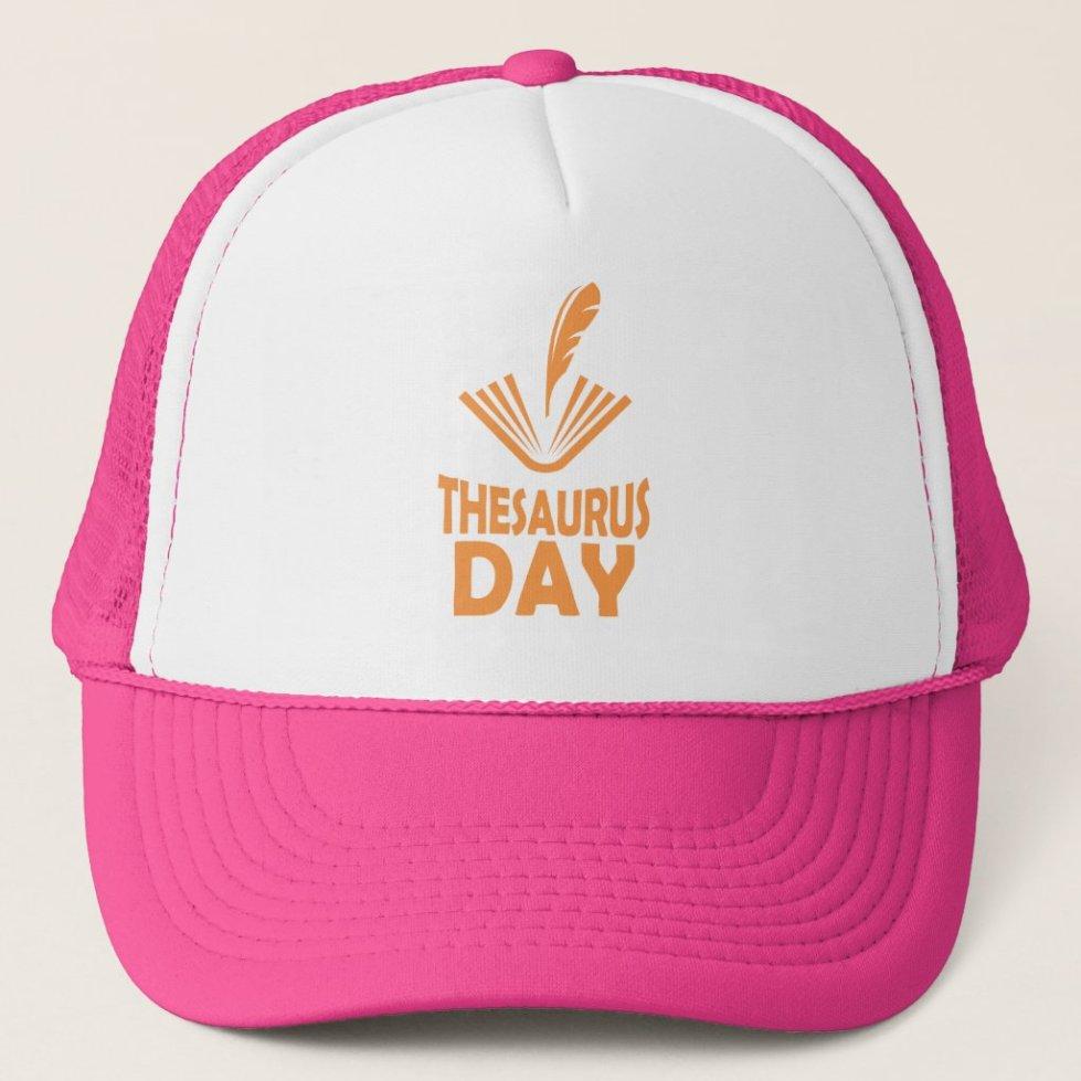 18th January - Thesaurus Day Trucker Hat