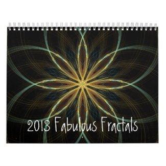 2013 Calendar Fabulous Fractals