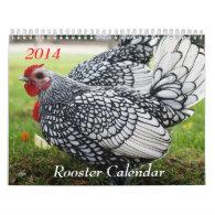 2014 Rooster Calendar