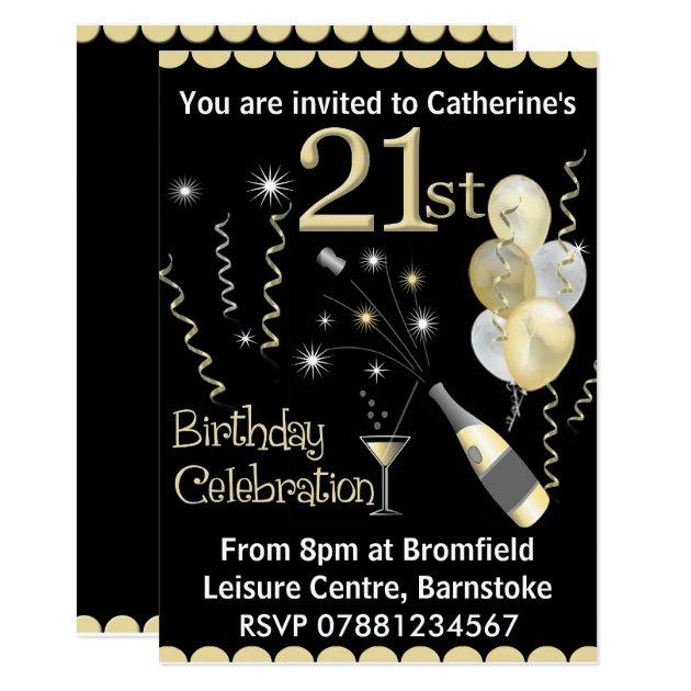 Birthday Save Date Invitations