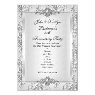 25th Wedding Anniversary Invitation Wording Invitations Ideas