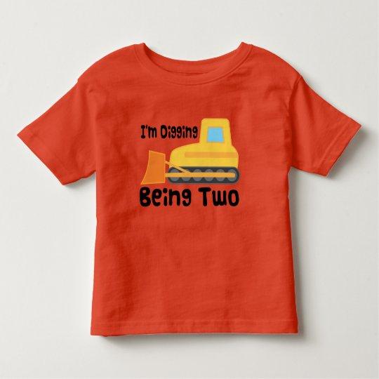 Fire Truck 2nd Birthday Elmo Shirt