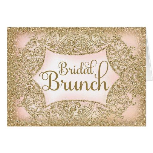 311 Faux Glitter Bridal Brunch Script