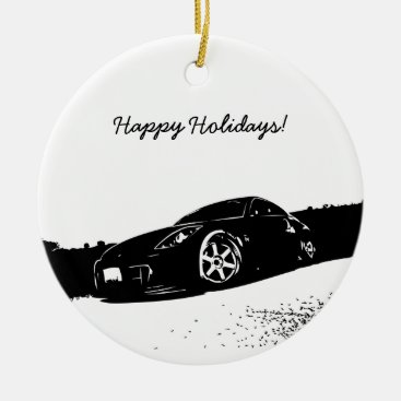 350Z Christmas Ornaments