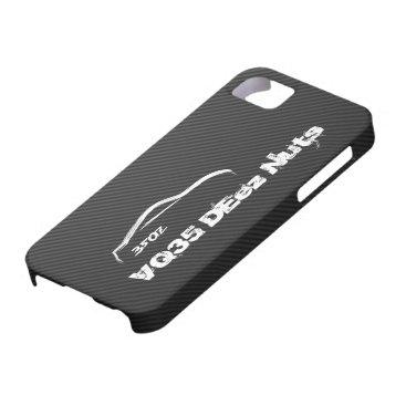 350z VQ35 DEez Nuts iPhone SE/5/5s Case