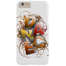 3D Dance (Fall) Barely There iPhone 6 Plus Case