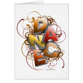 3D Dance (Fall) Card
