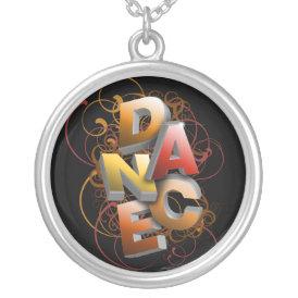 3D Dance (Fall) necklace