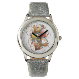 3D Dance (Fall) Wrist Watch