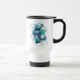 3D Dance (Spring) Travel Mug