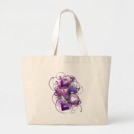 3D Dance (Summer) Large Tote Bag