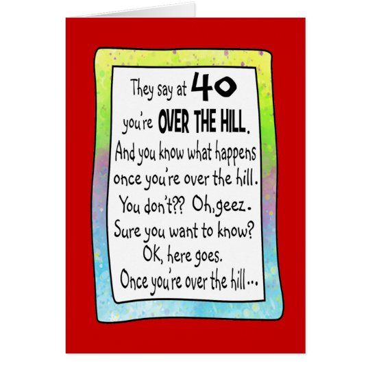 Over Hill Birthday Quotes Happy