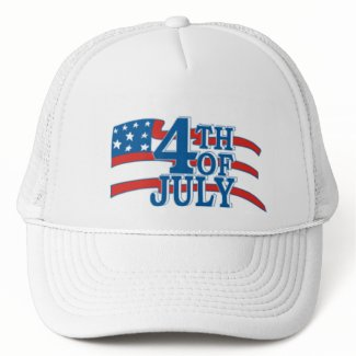 4th of July Flag Hat