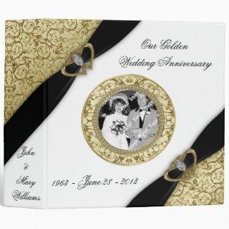 50th Wedding Anniversary Binder