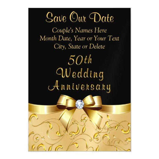 50th wedding anniversary save