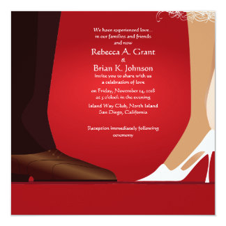 5 25x5 25 Bride Groom First Dance Modern Invite