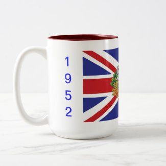 60 Years Diamond Jubilee Celebration Mugs
