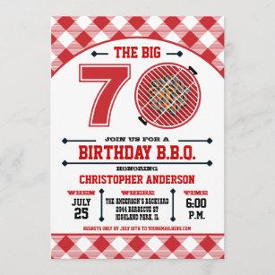 funny 70th birthday invitations zazzle