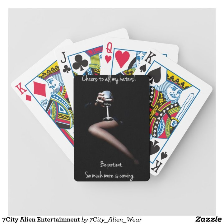 7City Alien Entertainment Bicycle Playing Cards