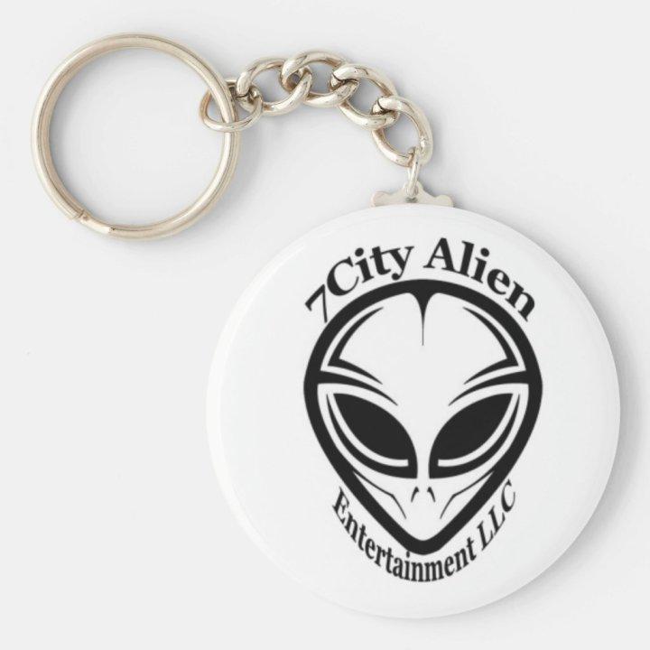 7City Alien Entertainment Keychain