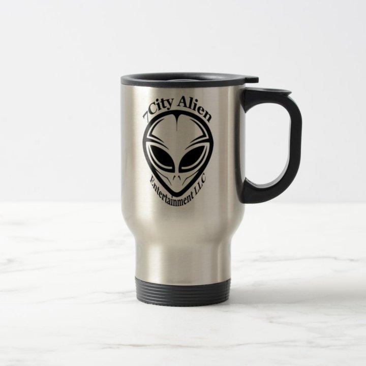 7City Alien Entertainment Travel Mug