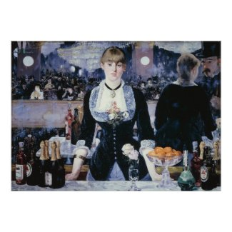 A Bar at the Folies-Bergère - Edouard Manet