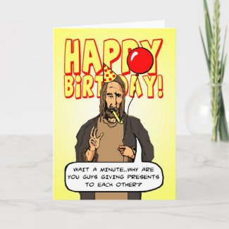 A Christmas Birthday card