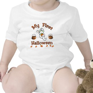 My First Halloween Baby shirt