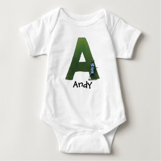 A is for Andy Infant Creeper